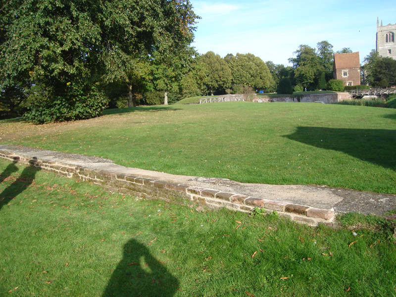 Tattershall Castle Wall