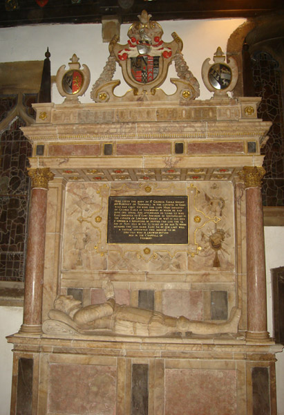 Thornhill Church Monument