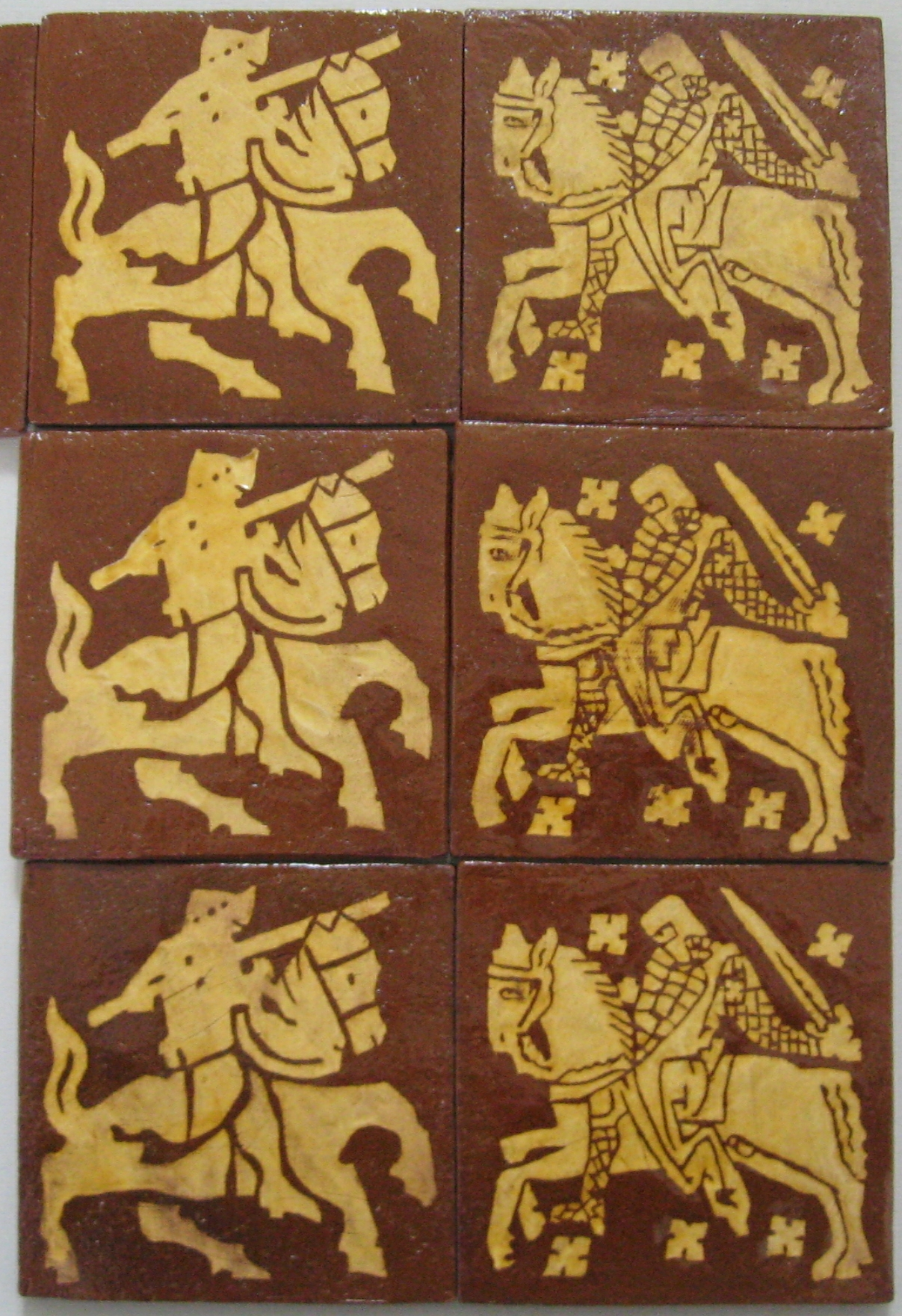 Knight tiles for Maleficent