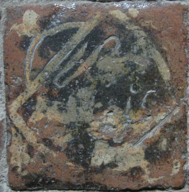 De Somery Arms tile.