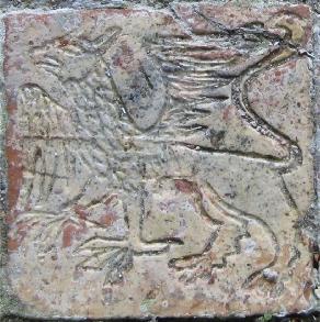Medieval Griffin Tile