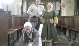 Making a Tudor Tile for the Tudor Monastery Farm
